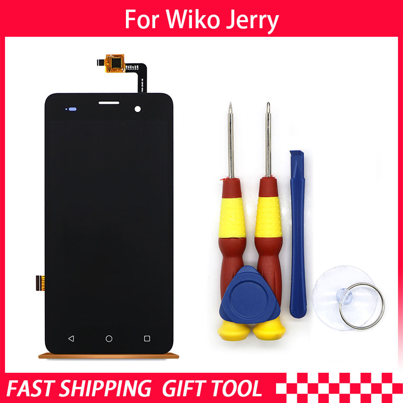 New Original5.0inch Touch Screen854X480LCD Display Assembly For Wiko Jerry  Phone Replacement Parts+DisassembleTool+3M Adhesive