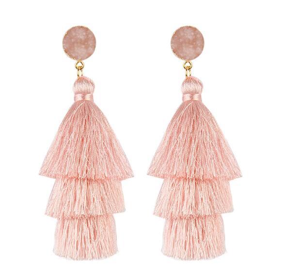 2018 Fashion Bohemia Long Tassel Earring For Women