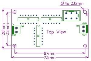 Image 5 - Электроника салонный розовый модуль генератора шума, собранный.