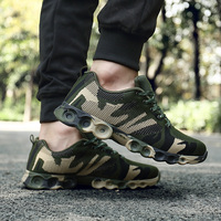 BLOOMNEXT Brand Trend Shoes Camouflage Green Fashion Autumn Spring Casual Shoes Air Mesh Hot Sale Men Shoes zapatillas hombre