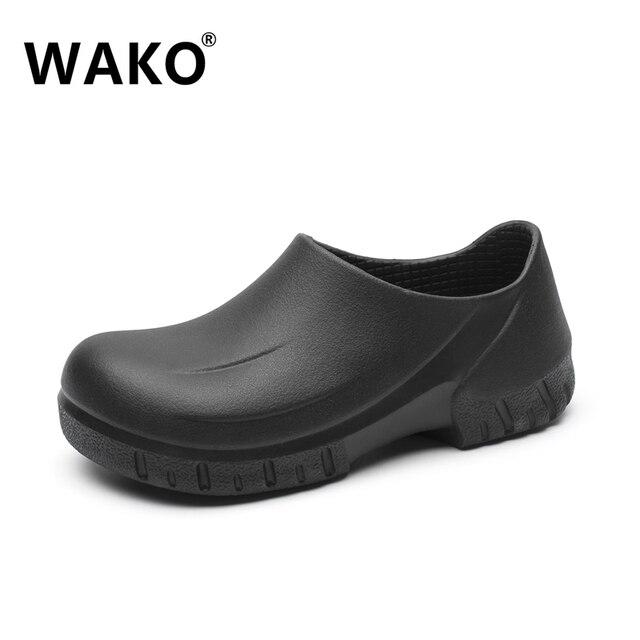 Wako 2018 New Men S Chef Kitchen Working Shoes Casual Flat Work Shoe