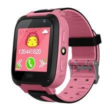 Children Smart Watch Kid SmartWatch 1 44 Inch Touch Screen SOS Emergency GPRS Alarm Camera Anti