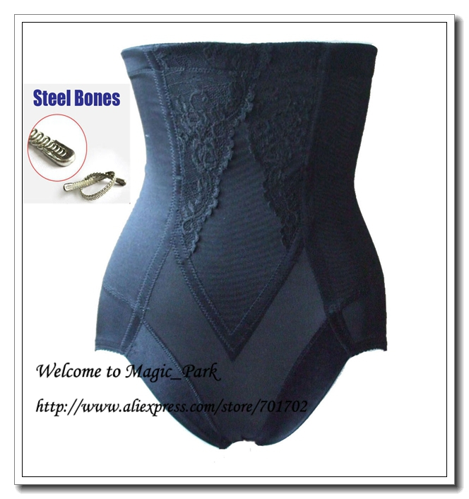 312358d8a Magic Park High Rise Body Shaper Firm Waist Tummy Control Panties Steel  Boned Plus size Shapewear Waist shapers Panty Shapers-in Control Panties  from ...