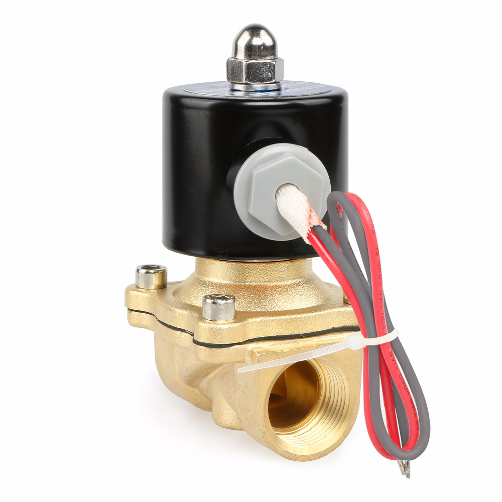 Us Solid 3 4 Brass Electric Solenoid Valve 24 V Ac Normally Volt Home Wiring Closed Air Oil Water Ce Ertified In From Improvement On Alibaba