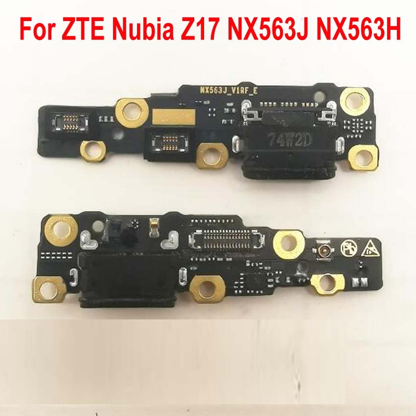 Best Work USB Charger Charging Port Dock Connector Flex Cable Module Board Microphone For ZTE Nubia Z17 NX563J NX563H Flex Cable