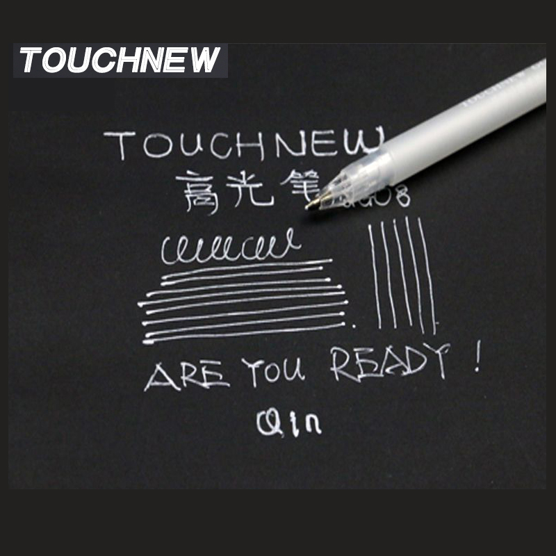 TouchNew 10/20 kpl Highlight Marker Pen Set White Ink Art Cartoon -vuori Piirustussekoitin Micron Grafiti Ddesign Sketch Markers