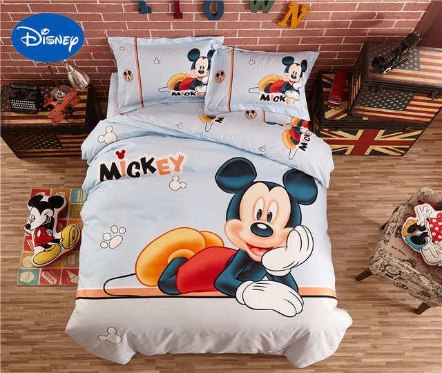 Biancheria Da Letto Disney.Carino Disney Mickey Mouse 3d Copre Copriletto Set Di Biancheria Da