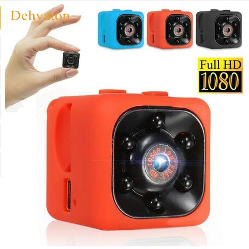 SQ11 Full HD 12M 1080P Mini Camera Camcorder Night Vision Motion Detection Micro Cam Aerial Sport DV Voice Video Recorder Cam