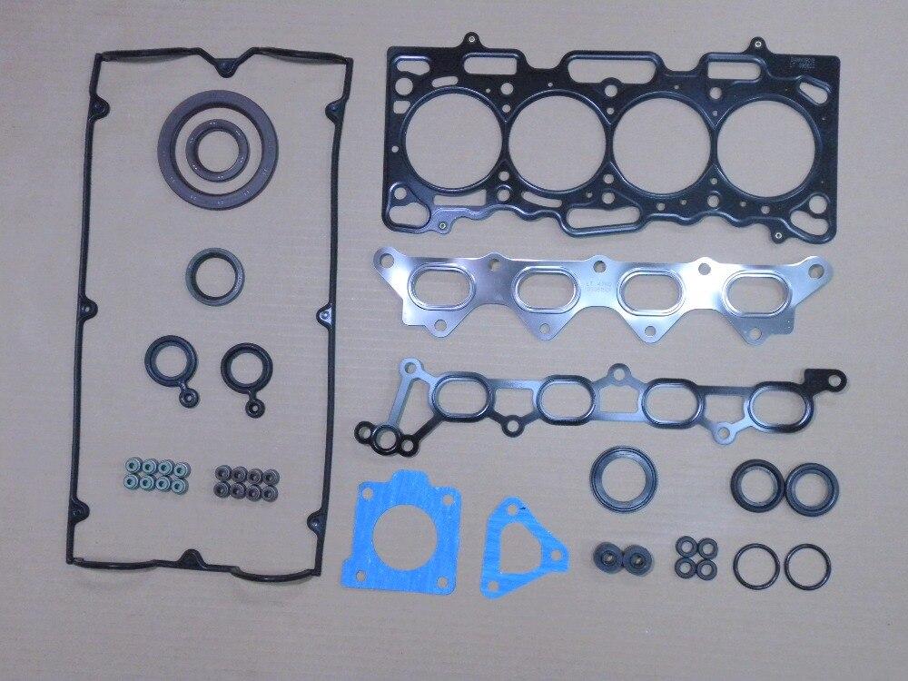 4G15M 4G15T полный комплект прокладок двигателя для Mitsubishi COLT 1.5L 1,5 T 1468cc 2005-2012 1000A272 S40317-00 S4031700