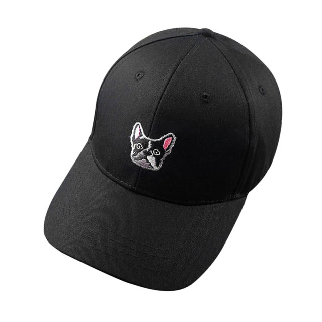 fbedb1bf0ad Unisex Cool Spring Leisure Hip Hop Baseball Cap for Women Birthday French  Bulldog Snapback Adjustable Baseball Cap Hip Hop Hat
