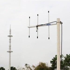 Image 4 - Antena alta do ganho de yagi de retevis ailunce ay01 ay02 ay03 ay04 com a antena fêmea do walkie talkie da liga de alumínio do conector da frequência ultraelevada