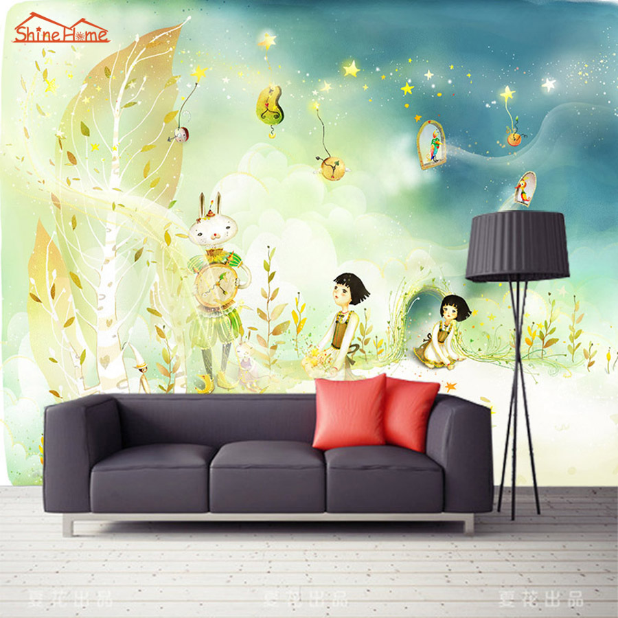 Buy mural girl and get free shipping on AliExpress.com