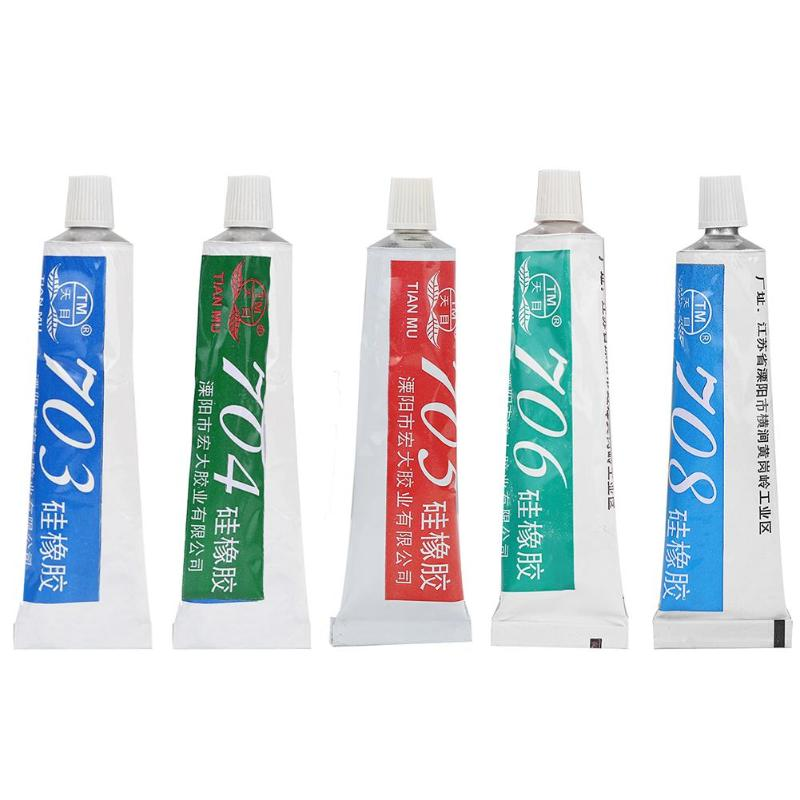 High Temperature Resistant Silicone Rubber Sealing Glue Adhesive Sealant 703/704/705/706/708