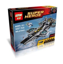 LEPIN 07043 Super Heroes Ultra-large Type Air Warship Bricks Building Block Minifigure Best Toys Compatible With Legoe 76042