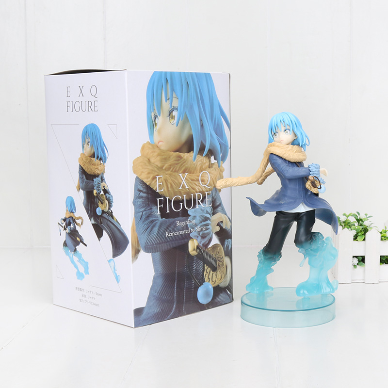 20cm Anime That Time I Got Reincarnated As A Slime Rimuru Tempest EXQ Figure Toy Doll Brinquedos Figure Model Gift