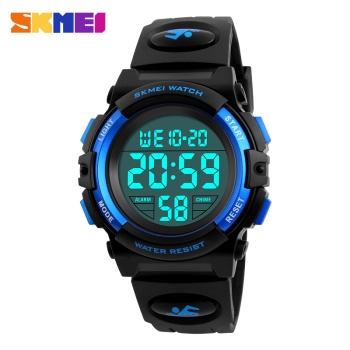 SKMEI Brand Children Watches LED Digital Multifunctional Waterproof Wristwatches Outdoor Sports for Kids Boy Girls - discount item  20% OFF Children's Watches