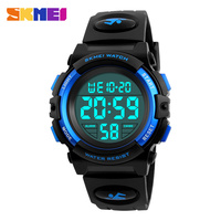SKMEI Brand Children Watches LED Digital Multifunctional Waterproof Wristwatches Outdoor Sports Watches For Kids Boy Girls