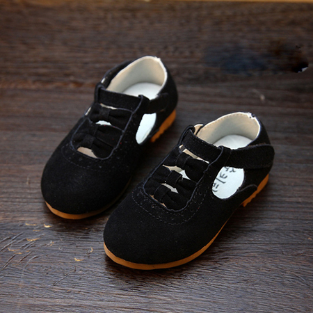 New style children shoes girls shoes genuine leather kids shoes princess girls single shoes fashion baby first walkers
