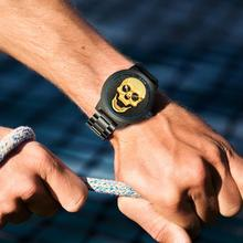 Men Cool Bone Skull Style Quartz Watch (3 colors)