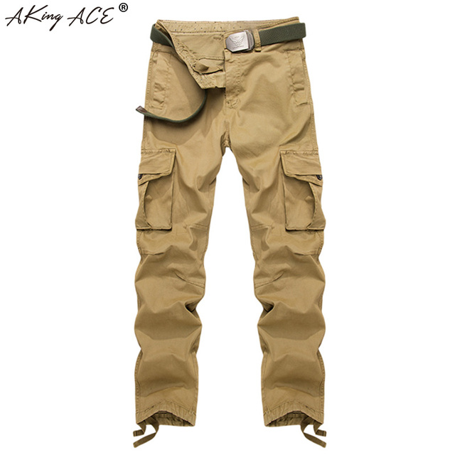 Cargo Khaki pants for men best photo