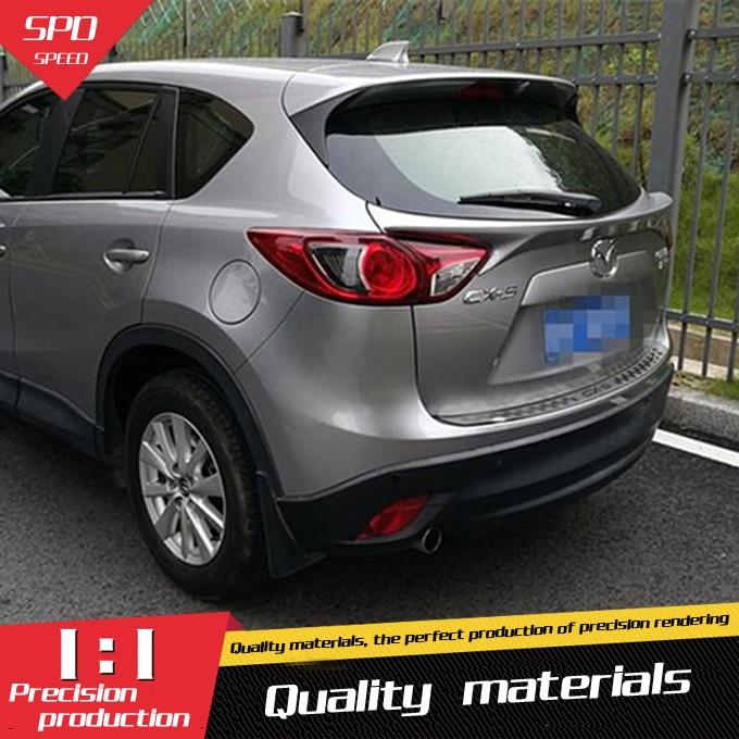 For Mazda CX-5 CX5 Spoiler High Quality ABS Material Car Rear Wing Primer Color Rear Spoiler For Mazda CX-5 Spoiler 2013-2015