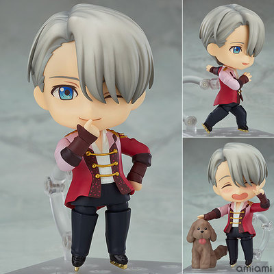 NEW hot 10cm YURI!!! on ICE YURI on ICE Victor Nikiforov Action figure toys collection doll Christmas gift with box