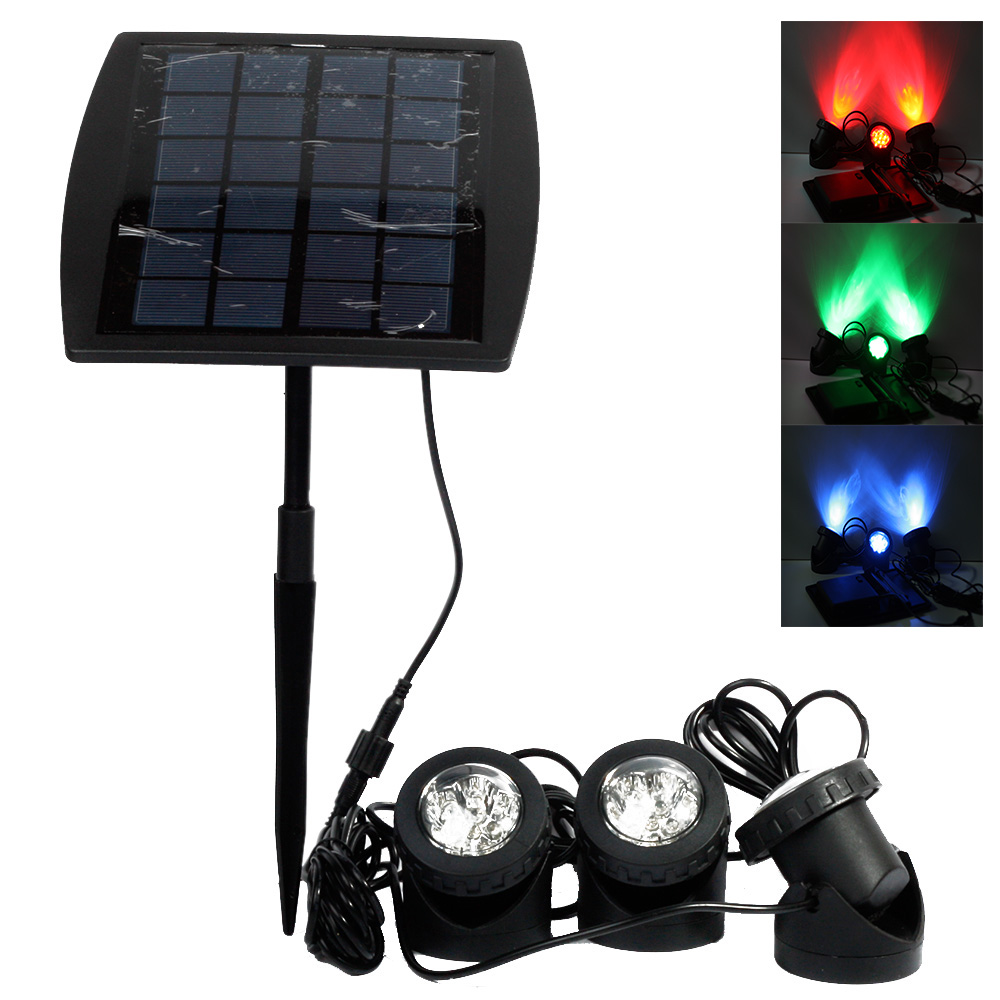 Portable Outdoor Solar Power LED Lights RGB/Cold White Led Landscape Light Solar Garden Lamp Waterproof IP68 Underwater Lights фильтр для воды новая вода то300