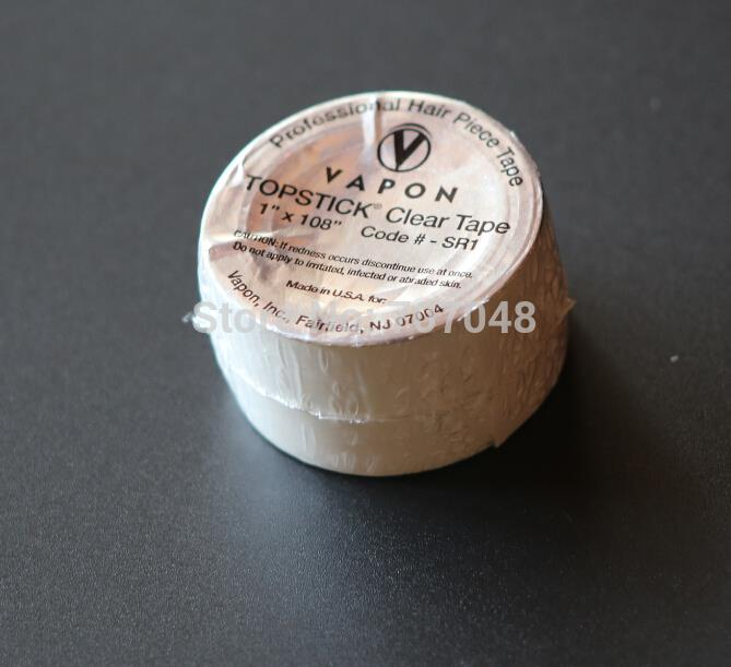 20 rolls x VAPON TOPSTICK CLEAR TAPE 1 x 108 super quality tape wig tape toupee