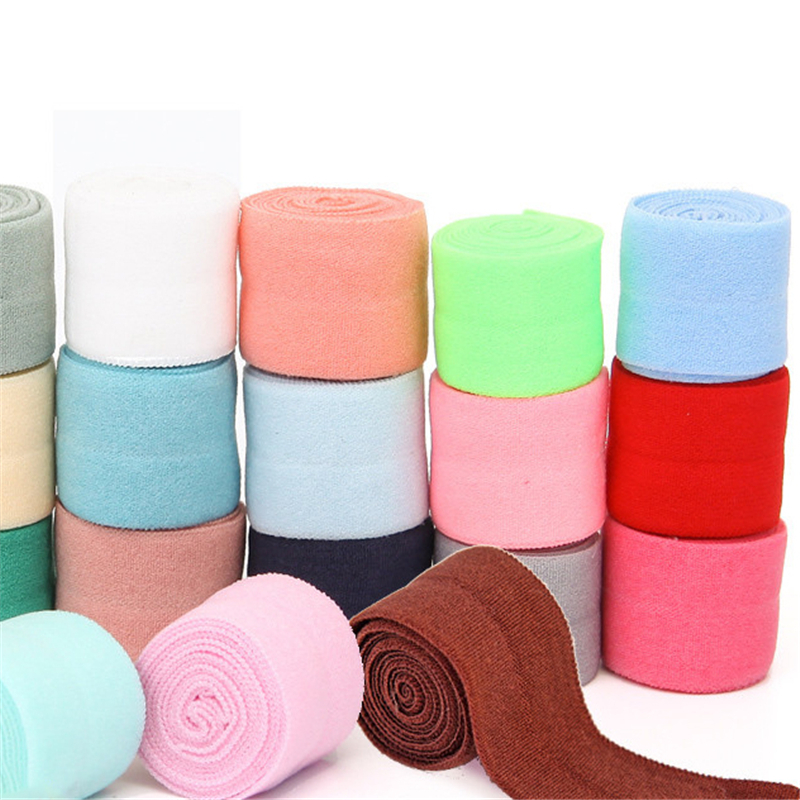 1mter Nylon Spandex Webbing Ribbon Binding Tapes Elastic