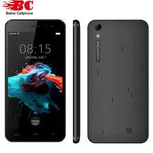 5.0 дюймов homtom ht16 смартфон 1 ГБ ram 8 ГБ rom android 6.0 Quad Core Мобильный Телефон 1280×720 MT6580 3000 мАч 8.0MP Dual Sim Телефон