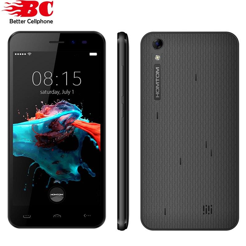5.0 pulgadas homtom ht16 smartphone 1 gb ram 8 gb rom android 6.0 Quad Core Telé