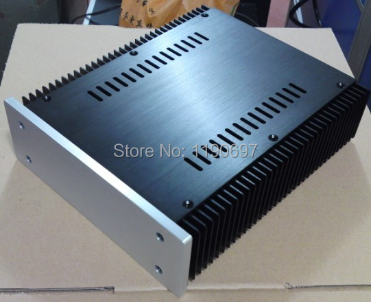 ФОТО Aluminum Cooling Cabinet For Power Amplifier And Amplifier Chassis 1Piece