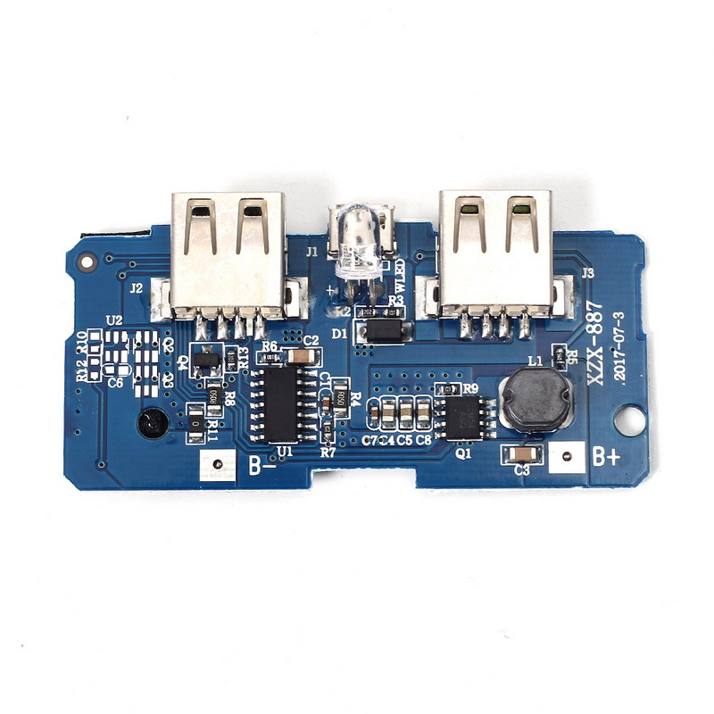 Power Bank Case Shell 5V 2A Power Bank Charger Module Charging Circuit Board Step Up Boost