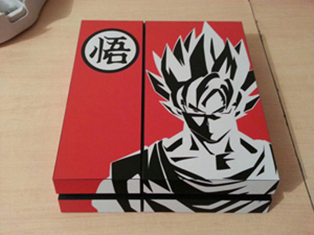 """For Dragon Ball Z """"WU"""" PS4 Skins Controllers For Sony PlayStation 4 PS4 Full Body Vinyl Skin Sticker"""