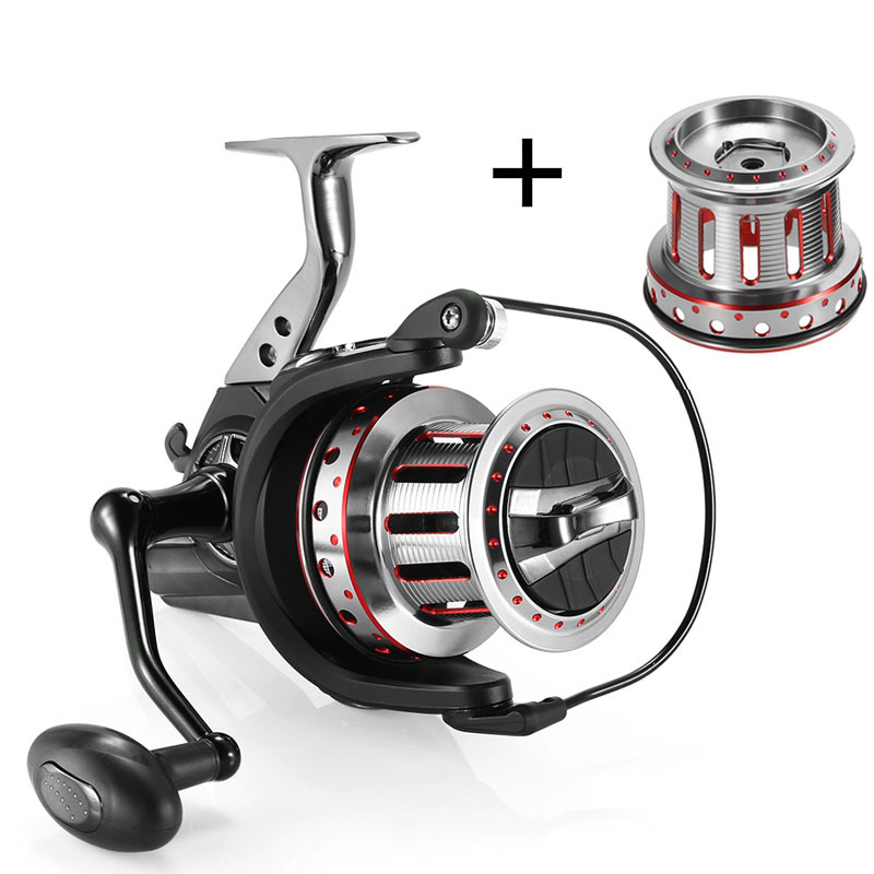 11+1BB Ball Bearings Spinning Fishing Reel 4.7:1 Left/Right Collapsible Handle Fishing Wheel With Spare Spool B17111+1BB Ball Bearings Spinning Fishing Reel 4.7:1 Left/Right Collapsible Handle Fishing Wheel With Spare Spool B171