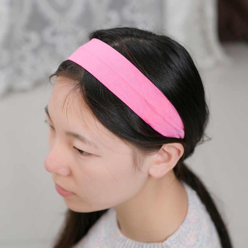 1PC Fashion Stijl Absorberende Zweet Hoofdband Snoep Kleur Haarband Populaire Haar Accessoires voor Vrouwen