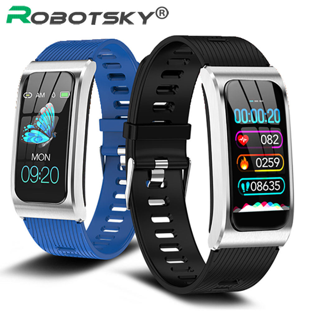 AK12 Fashion Smart Band Alloy IP67 Waterproof Women's Watch Heart Rate Monitor cycle Smart Bracelet Sports Band Women Wristband