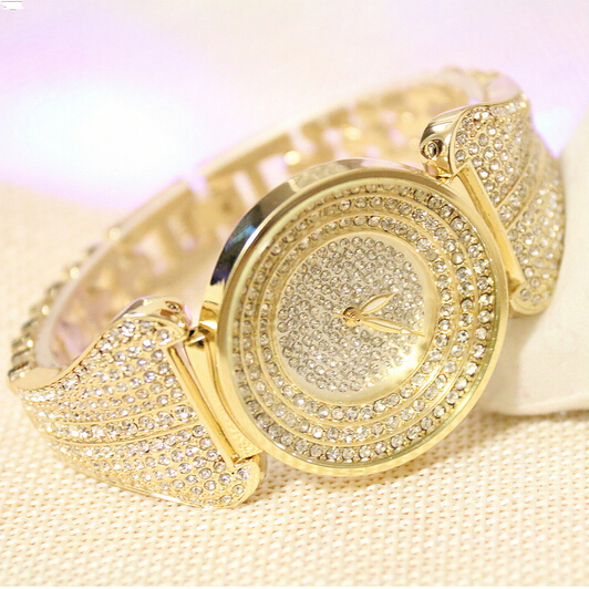 wristwatch women bi belt new generous silver rose man hour for quartz arrival watch boy girls wear clocks watches s steel bracelets fashion date stone gifts lover gold white crystal diamond