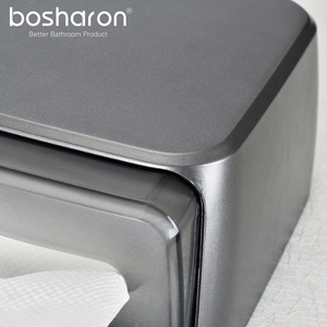Image 5 - Hand Multifold Paper Towel Holder Bathroom Accessories Wall Mounted Kitchen Holder For Paper Towel Dispenser Key Open Tissue Box