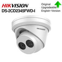 HIKVISION 4MP IR Fixed Turret Network Dome Camera DS-2CD2345FWD-I POE IP Camera Replace DS-2CD2335FWD-I Powered by Darkfighter