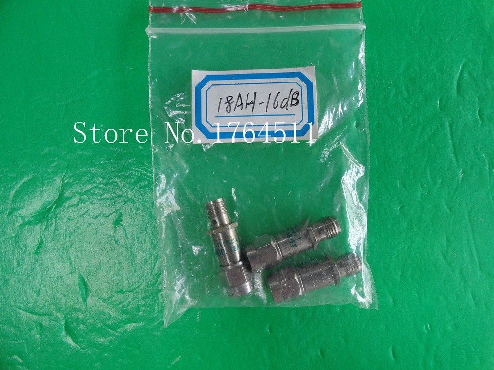 [BELLA] INMET 18AH-6dB DC-18GHz Att:6dB P:2W SMA Coaxial Fixed Attenuator  --3PCS/LOT