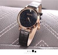 Fashion Brand Guou Quartz Watch Men Woman Unisex Waterproof Casual Clocks Genuine Leather Relogio Masculino Role Luxury Watches