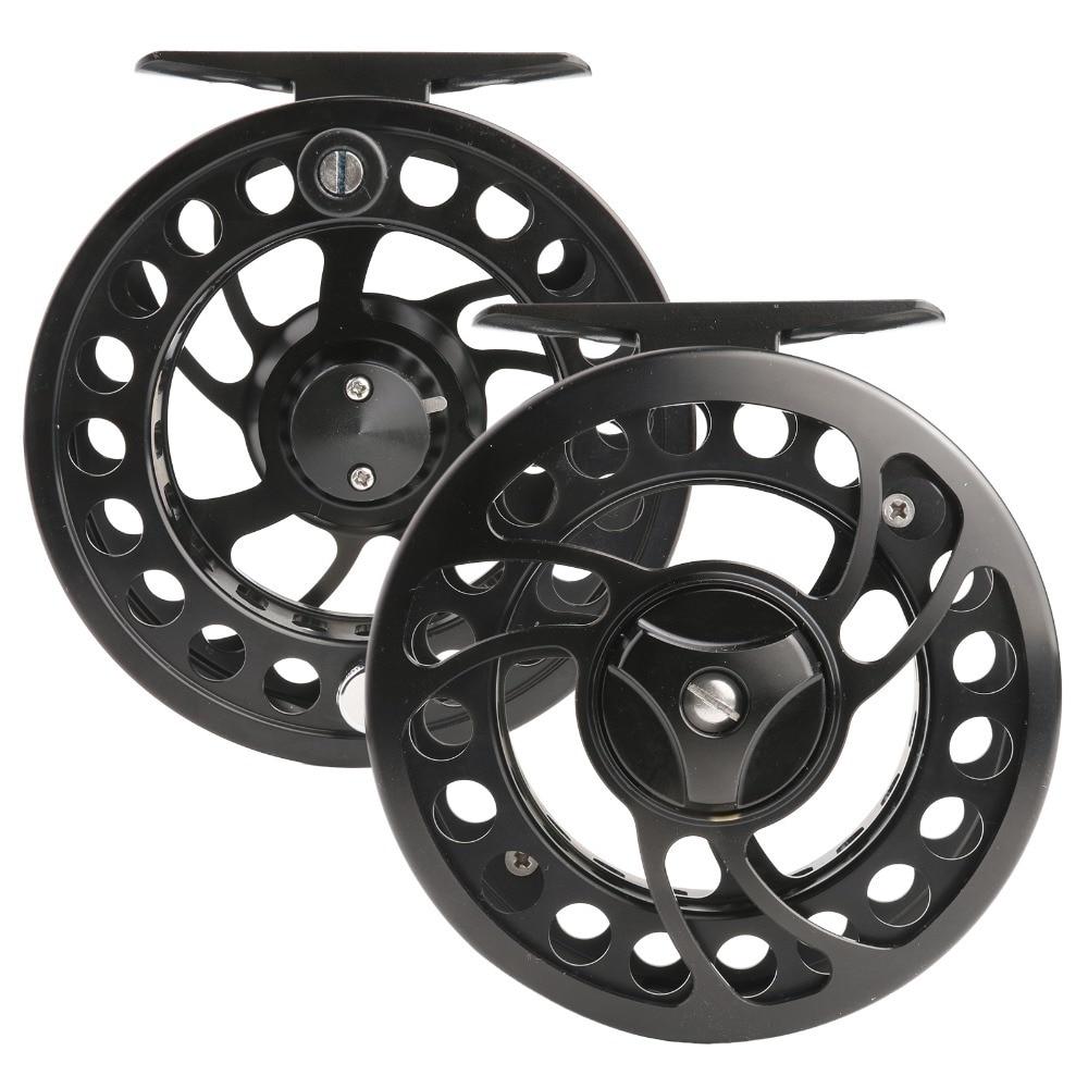 Maximumcatch Super Price Fly Fishing Reel CNC Machine Cut 3/5WT Aluminum Large Arbor Fly Reel piscifun fly fishing reel platte 3 4 5 6 7 8 9 10 wt cnc machine cut fishing reel large arbor aluminum fly reel302 327 365