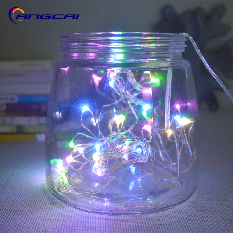 Battery USB Operated 1M 2M 3M 4M 5M 10m Mini LED Copper Wire Fairy String Lights Lamp For Christmas, Holiday, Wedding And Party
