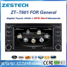 ZESTECH high performance double din HD touch screen car dvd for TOYOTA universal car dvd radio/RDS/3G+factory