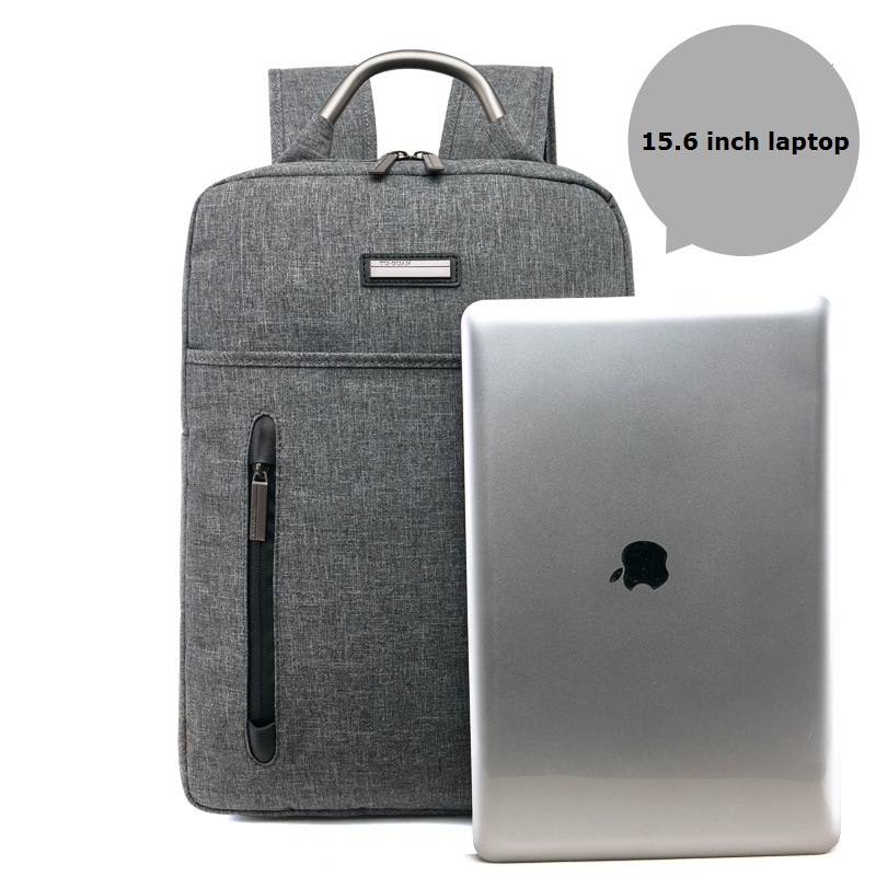 Women Bag 15 Inch Laptop Computer Notebook Backpack Men Brand Men's Backpacks Designer Grey Travel Business Backpack Bagpack jacodel laptop bagpack 15 inch notebook backpack travel case computer pc bag for lenovo asus dell notebook 15 6 inch school bags