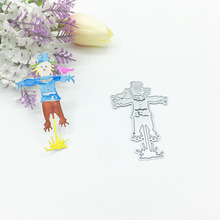 Julyarts Scarecrow Bird Metal Cutting Die Fustelle for Scrapbooking Nouveau Arrivage Stamps Crafts Gift Cut Stitch