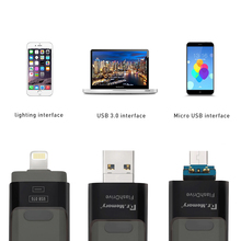 Dr Memory High Speed USB Flash Drive 3 In 1 For IPhone 5 5s 5c 6s