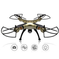 2016 Newest Syma Large Scale Rc Drone X8HW WIFI FPV With 1MP HD Camera 2 4G
