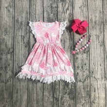 Easter Sister Matching Pink Bunny Princess Boutique Dresses